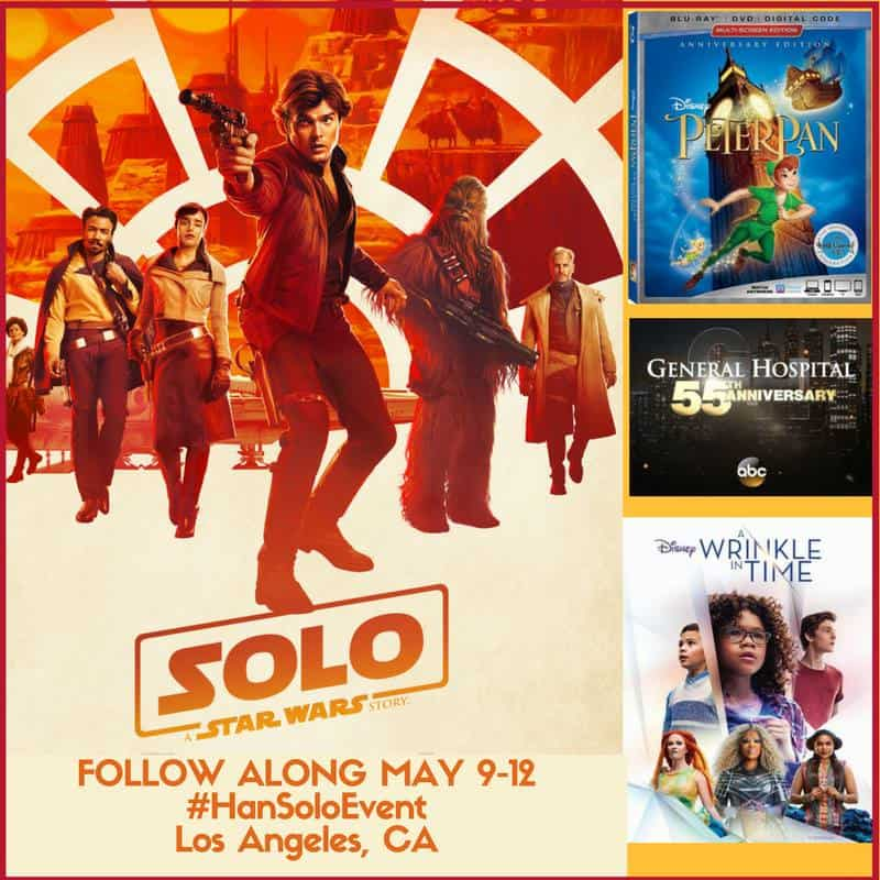 Follow along for the Han Solo Movie Event in Los Angeles May 9-12!