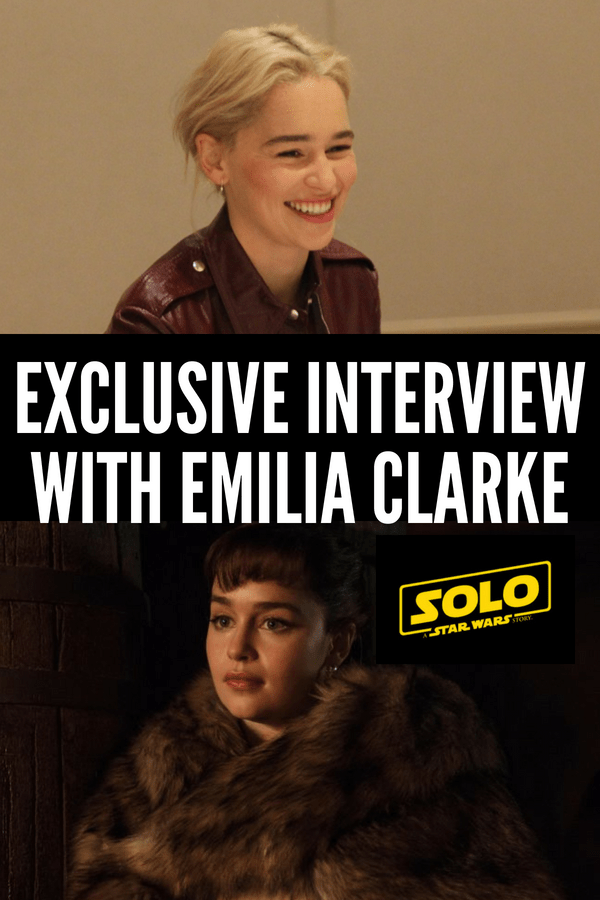 An exclusive interview with Game of Thrones actress Emilia Clarke and her role as Qi'ra in Solo: A Star Wars Story. She talks about strong women and being a LEGO! #HanSolo #EmiliaClarke #GameofThrones