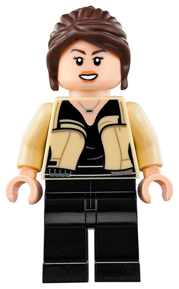 Emilia Clarke has always wanted to become a Lego, and now she has in Solo: A Star Wars Story