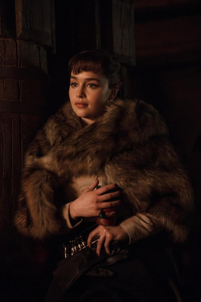 Emilia Clarke in Han Solo and why I want my daughters to be like Emilia Clarke.