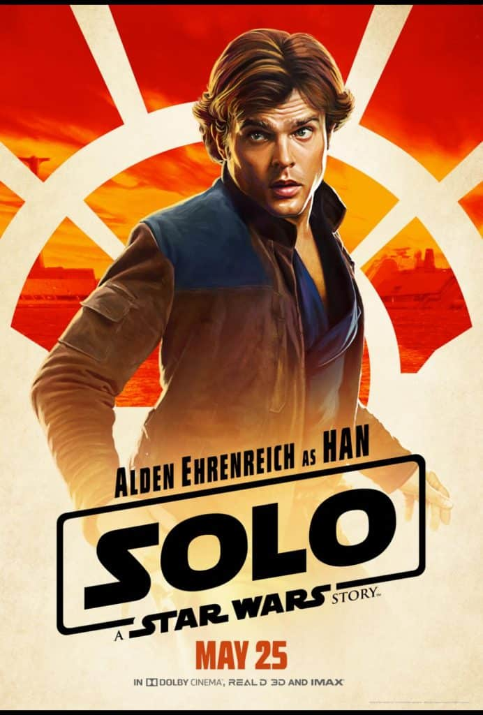 Harrison Ford told Alden Ehrenreich he would make hundreds and hundreds of dollars.