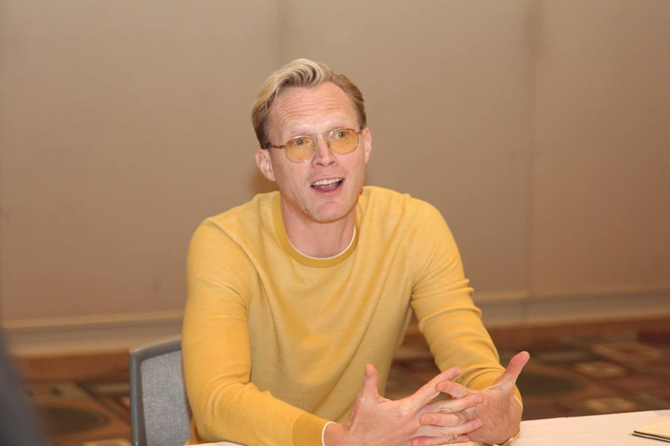 Paul Bettany tells us how he asked Ron Howard for the job in Solo: A Star Wars Story