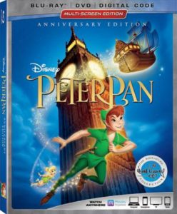 Pixie-Dusted Bonus Features on Peter Pan Blu-ray