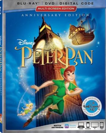 Peter Pan is on Blu-ray on June 5th!