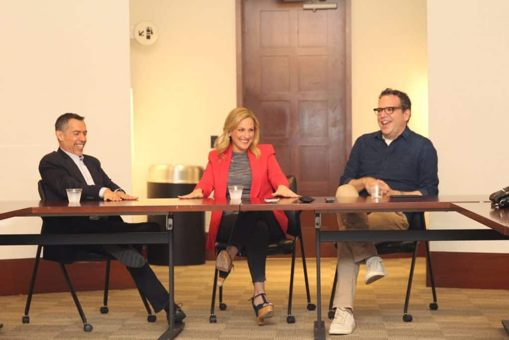 Come find out the scoop on Quantico TV show season 3 with showrunner Michael Seitzman and Marlee Matlin.
