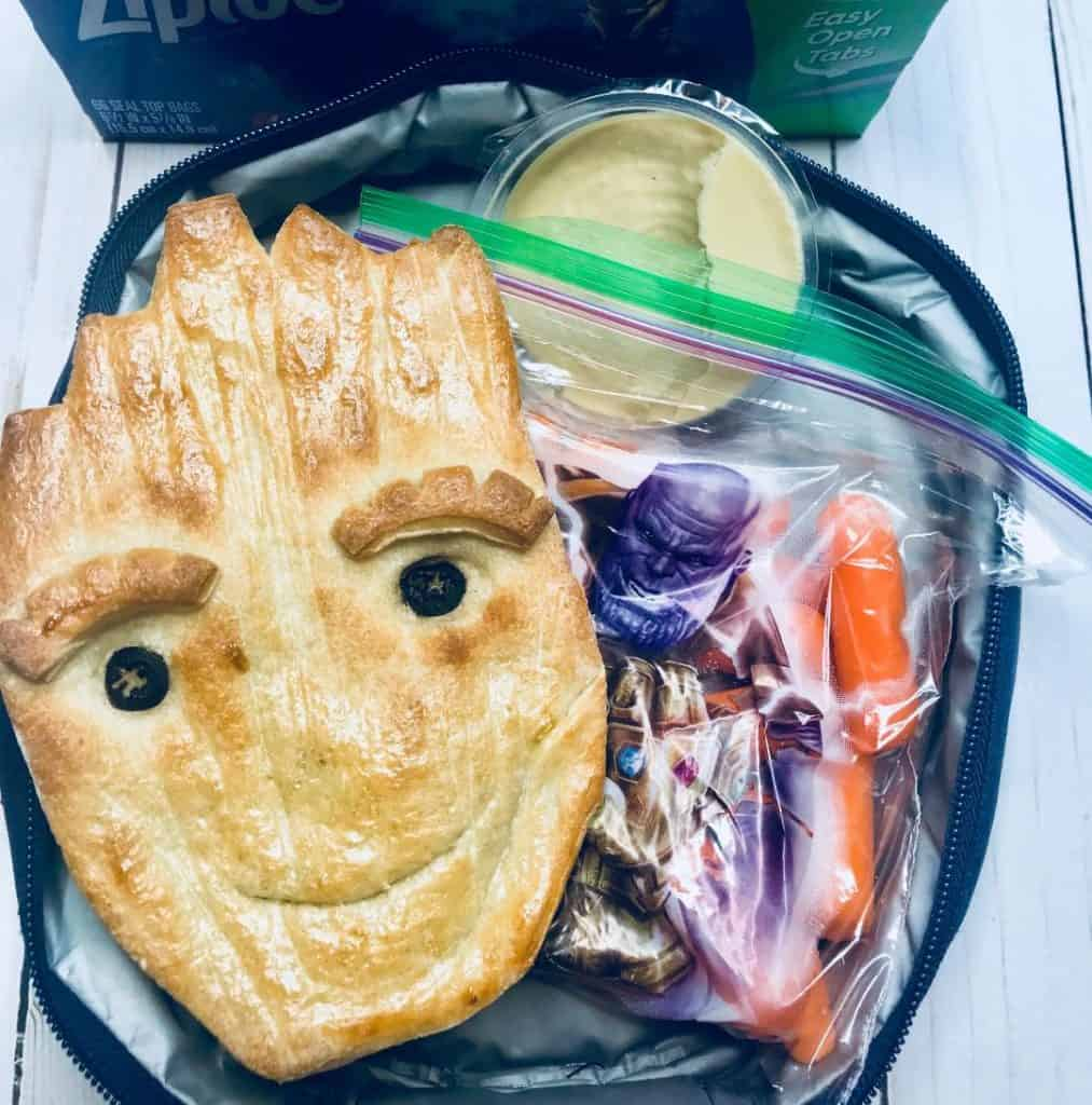 Make your own Teen Groot Bread for summer picnics or school lunches!
