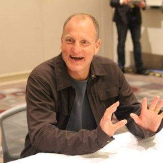 Woody Harrelson in Han Solo talks about gratitude and how he stays happy.