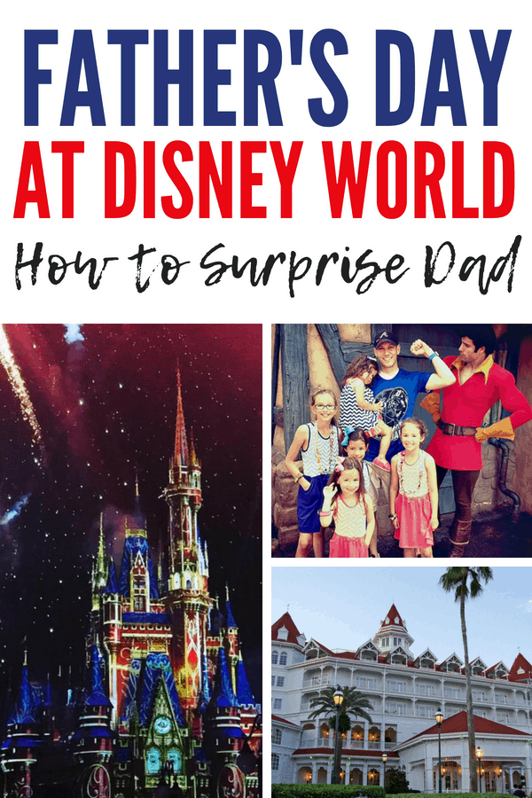 How to surprise your favorite dad at Walt Disney World for Father's Day! Our Grand Floridian Resort big surprise and the Cast Members who helped us. Try a fireworks dessert party or even call the cake hotline to order a special dessert. #DisneyWorld #FathersDay #GrandFloridian