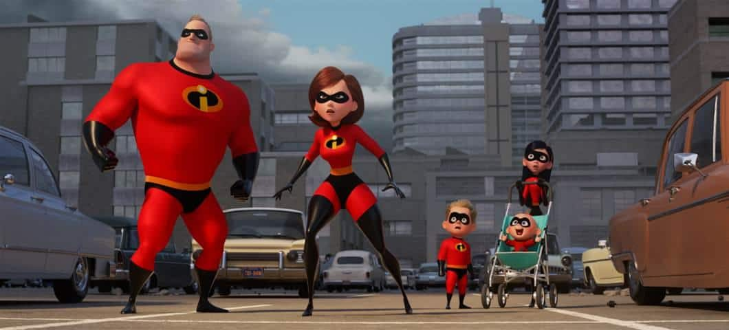 The Parr family picks up right where they left off in Incredibles 2!