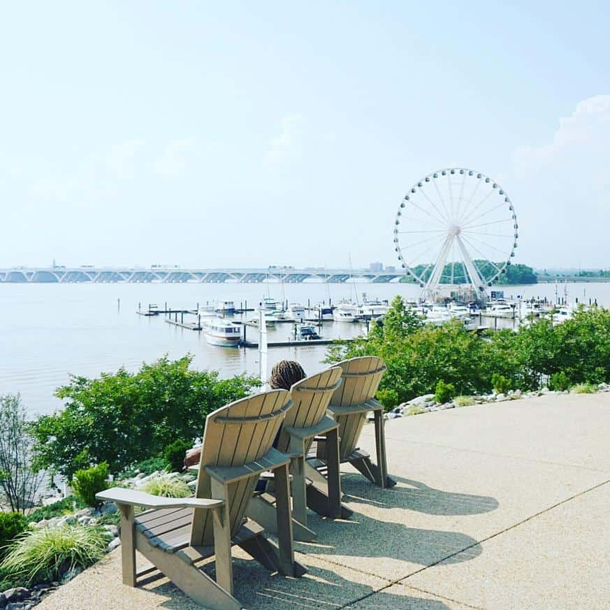 The Gaylord National Harbor Hotel is steps away from the Nation Harbor, MD!