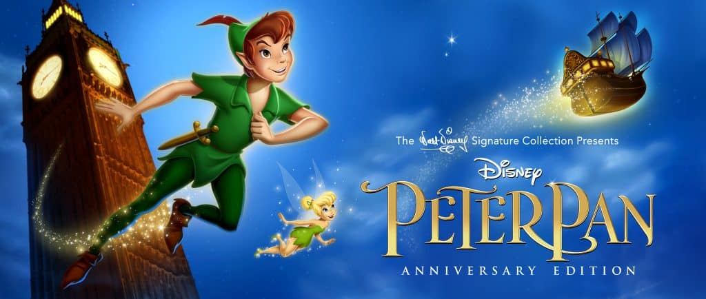 Peter Pan is now part of the Walt Disney Signature Collection to celebrate its 65th Anniversary!