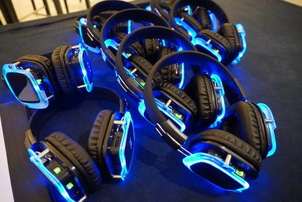 Silent Disco at Gaylord National Harbor