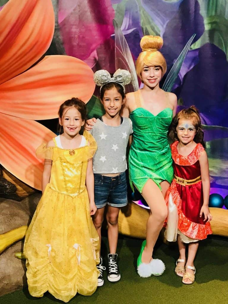 Tinker Bell Meet and Greet at Walt Disney World. Celebrate your favorite pixie with Peter Pan on Blu-ray!