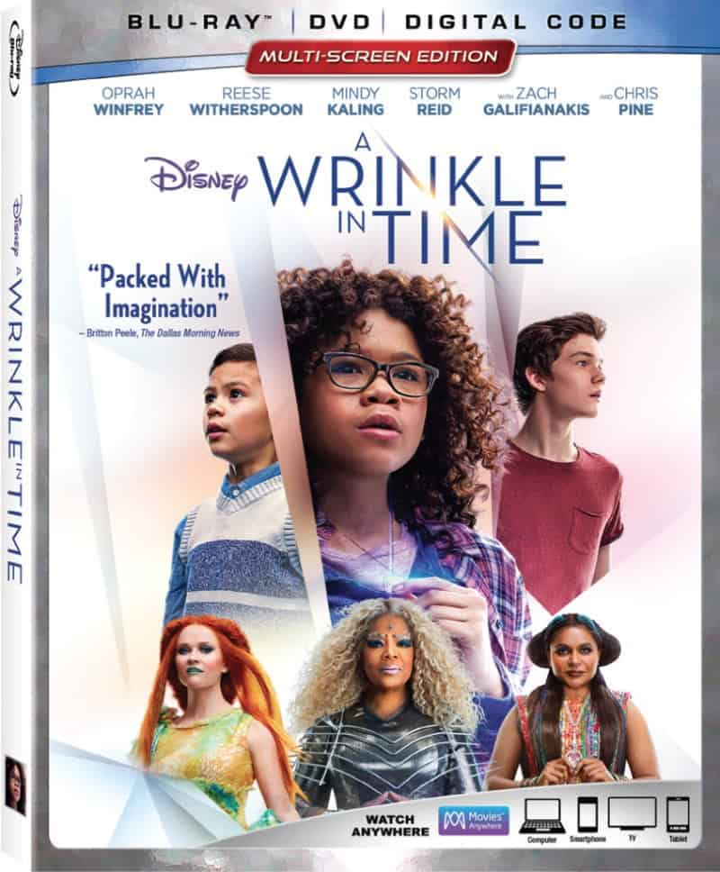 A Wrinkle in Time is on Blu-ray now!