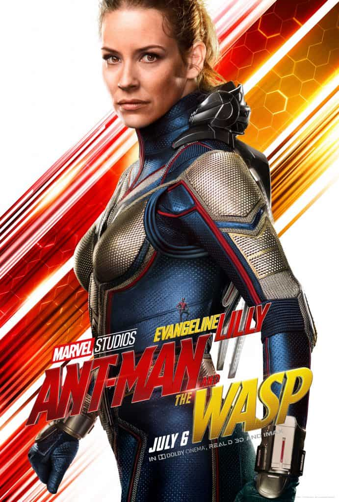 Evangeline Lilly is the girl superhero my daughters have been waiting for.