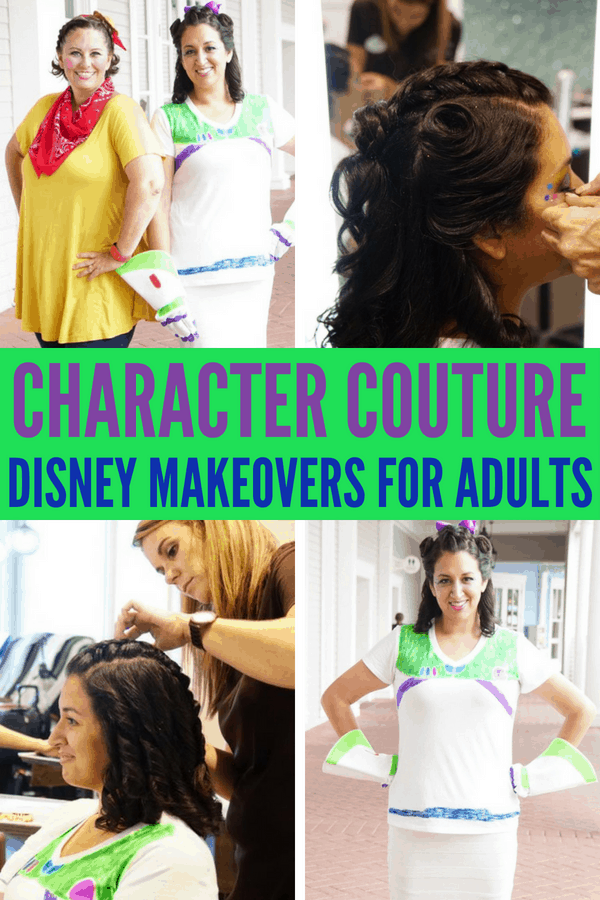 The answers to your frequently asked questions about Character Couture makeovers for adults at Walt Disney World. What characters can you choose? Which Disney salons offer Character Couture? How much are they? What's the difference between Character Couture and Bibbidi Bobbidi Boutique?