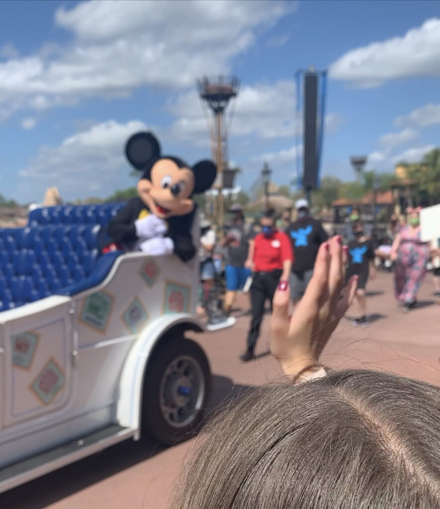 Character Cavalcades Disney World Covid