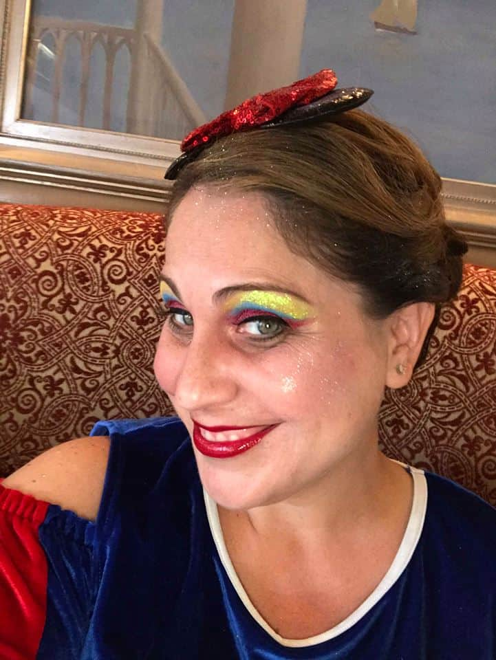 Snow White Disney Princess makeover for adults