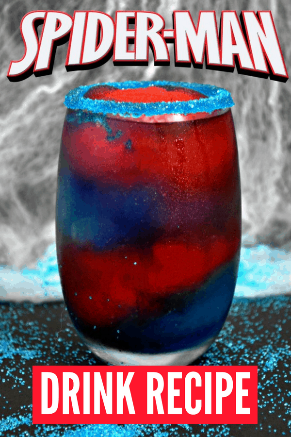 SpiderMan Drink Recipe