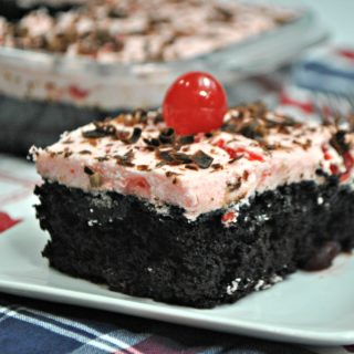 Chocolate Cherry Dr Pepper Cake recipe - a summer dessert hit!