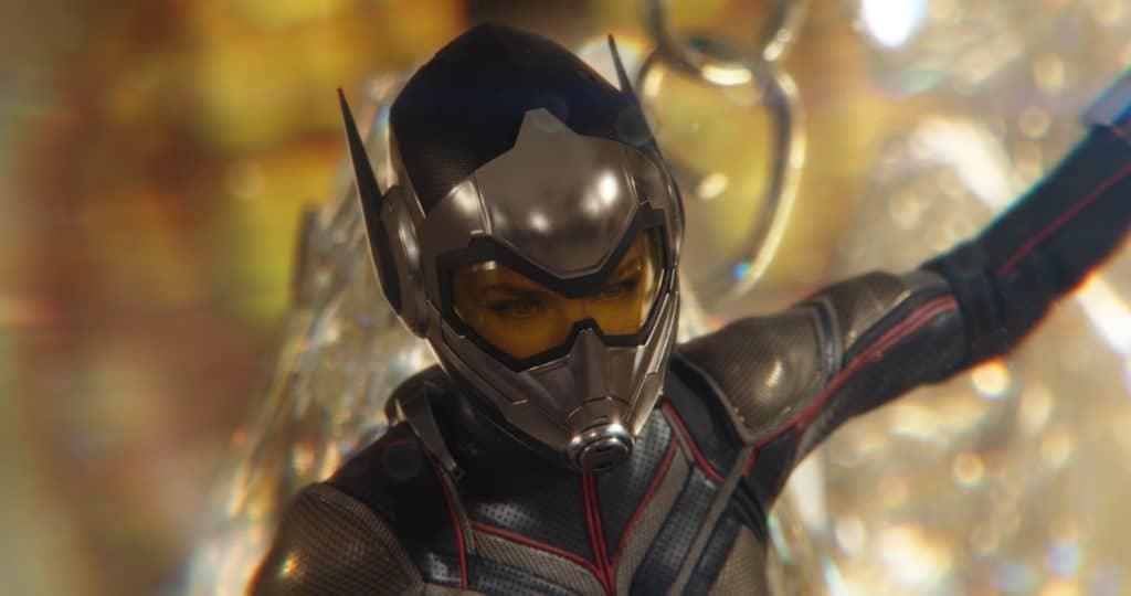 The Wasp is a new female superhero in Ant-Man and the Wasp.