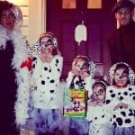 DIY Family 101 Dalmatians Costume including Cruella De Vil