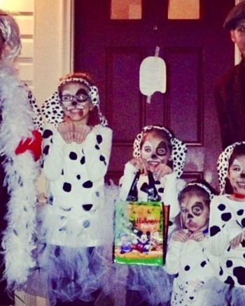 DIY 101 Dalmatians Halloween Costume