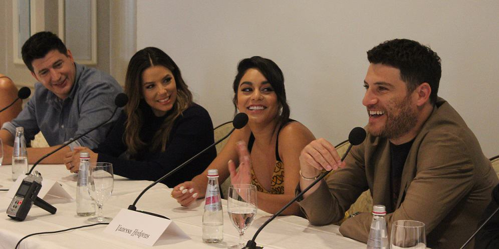 Interviewing the cast of Dog Days