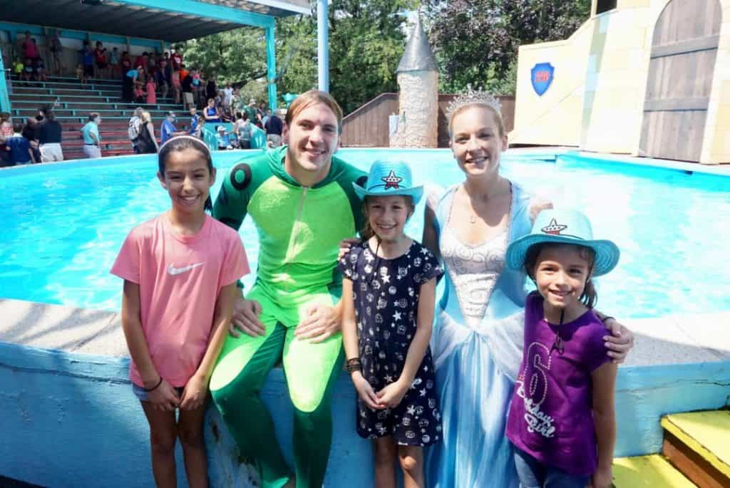 Adventures of Frog Prince at Dutch Wonderland