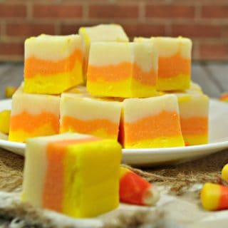 Easy candy corn fudge recipe