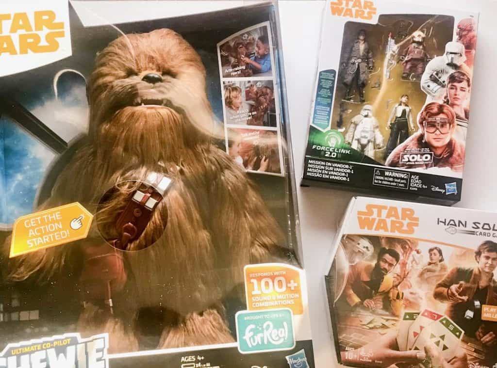 Solo A star Wars Story Merchandise