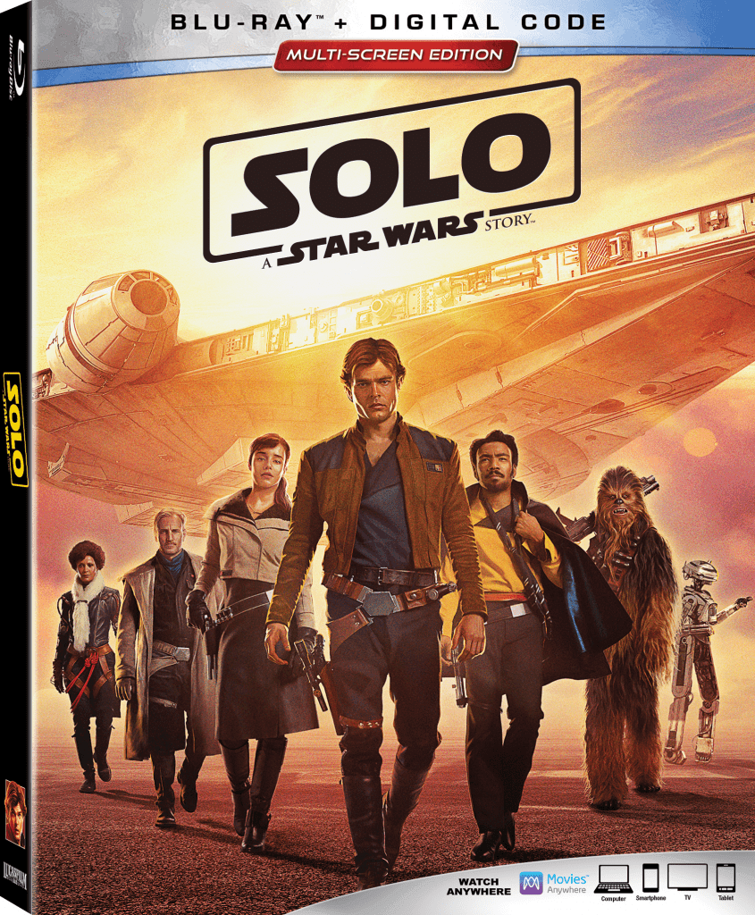 Get Solo A Star Wars Story on Bluray on September 24th!