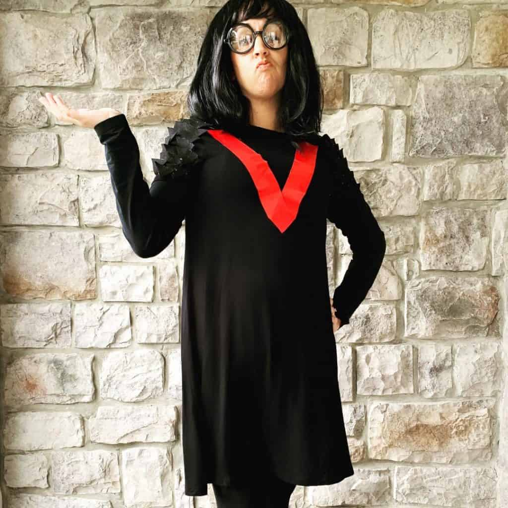 DIY Edna Mode Costume