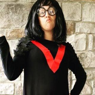Edna Mode DIY Halloween Costume