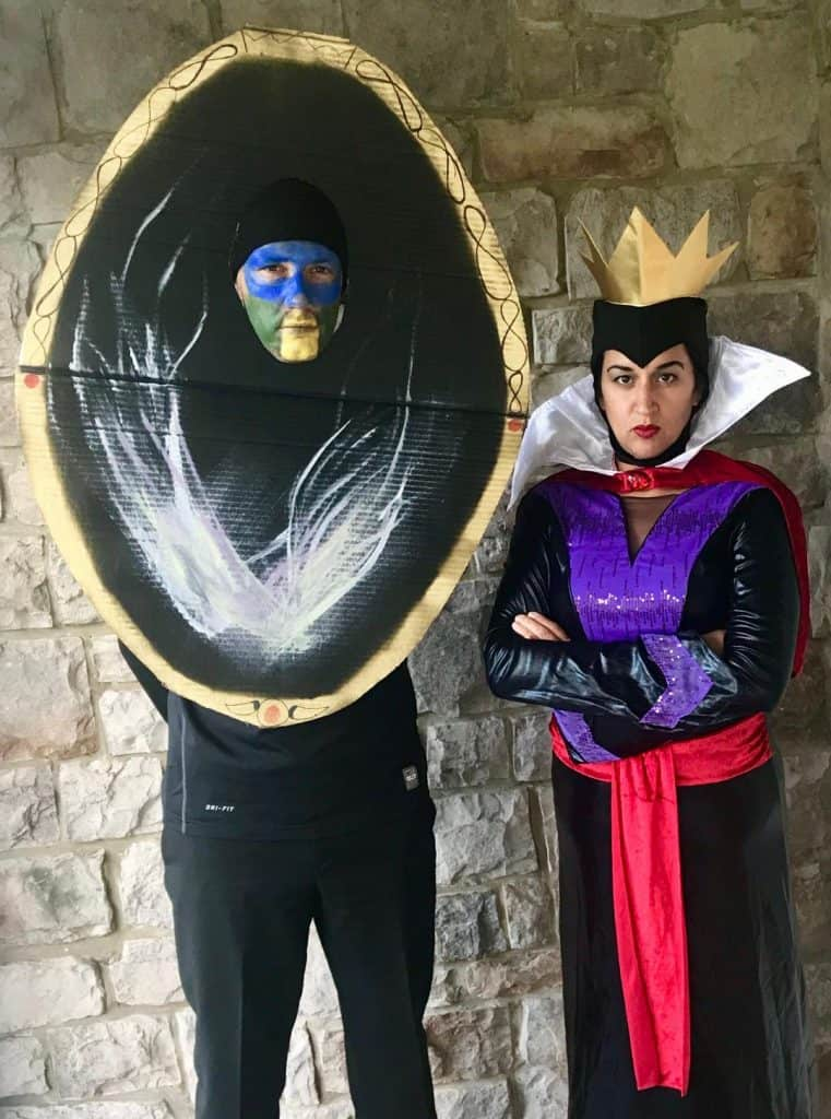 Evil Queen and Magic Mirror Costumes