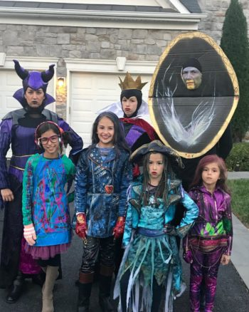 Family Disney Descendants Costumes
