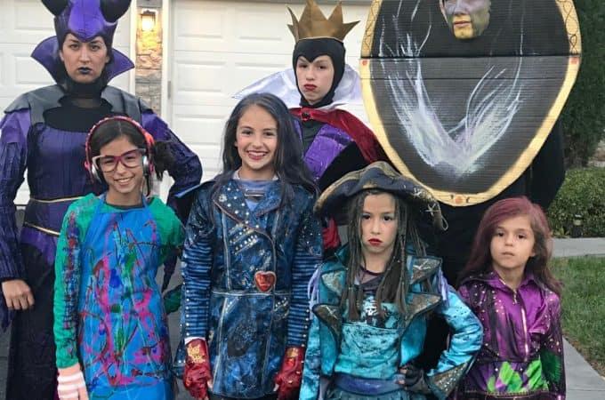 Family Disney Descendants Costumes