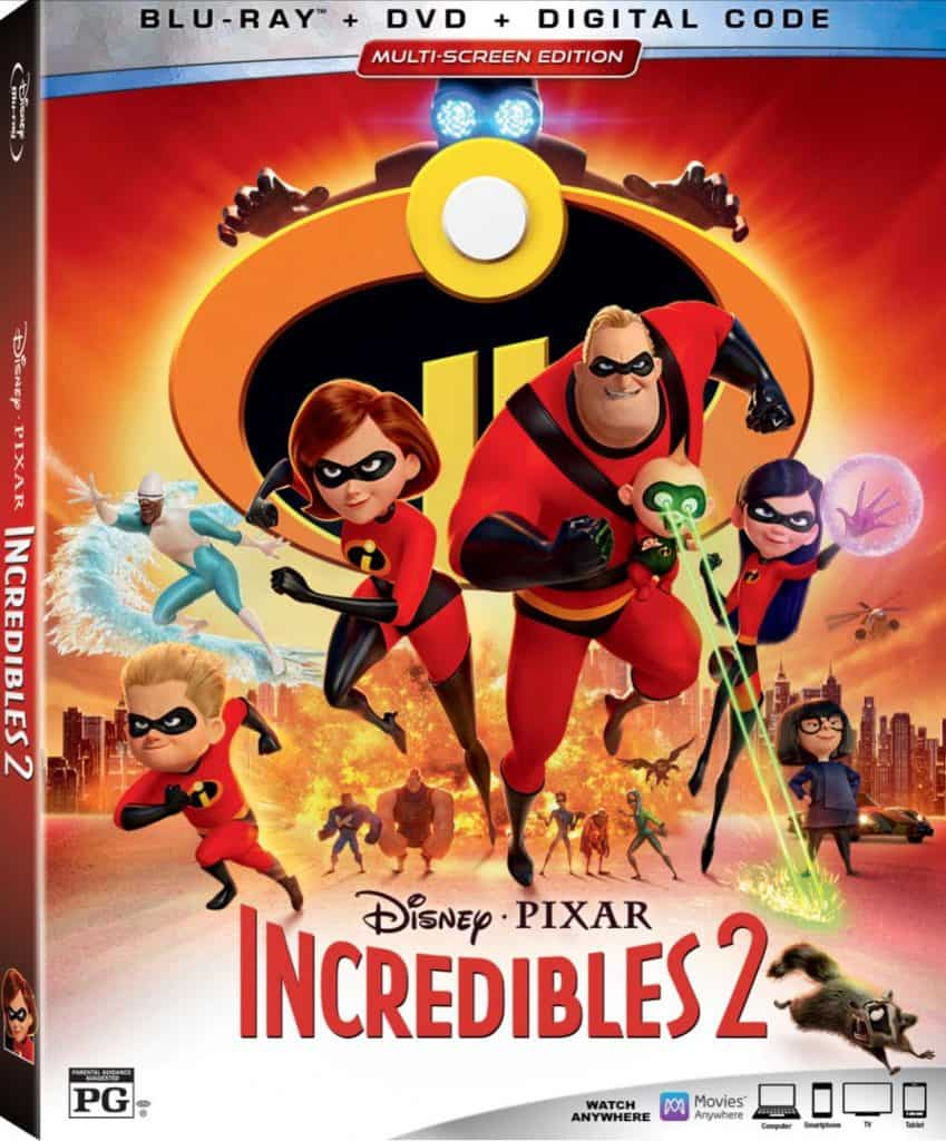 Incredibles 2 is on Bluray on November 6th!