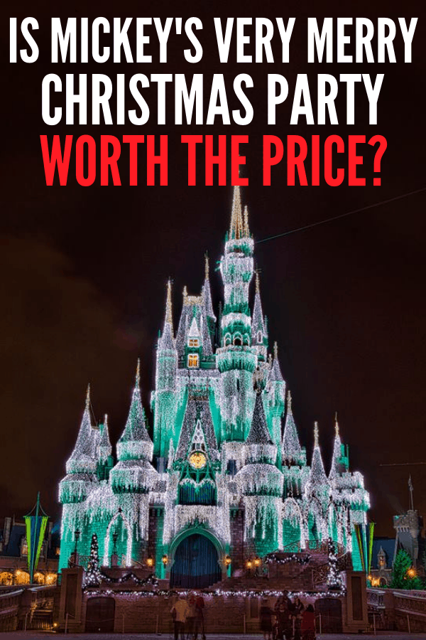 Is Mickey's Very Merry Christmas Party worth the price? Tickets can be over $100, so id there enough to do for little ones at Magic Kingdom Park?