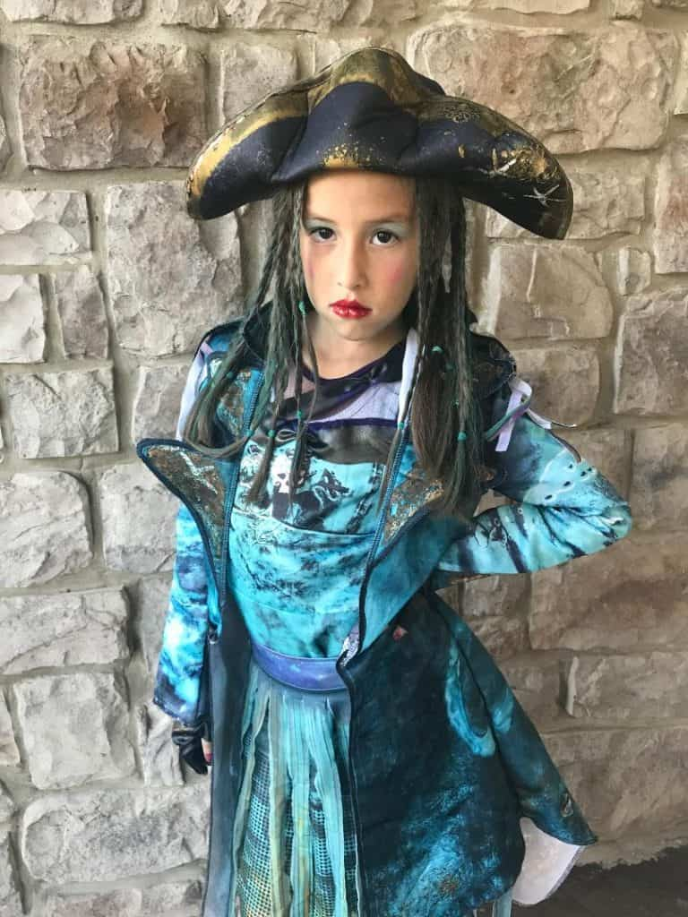 DIY Uma Costume Disney Descendants