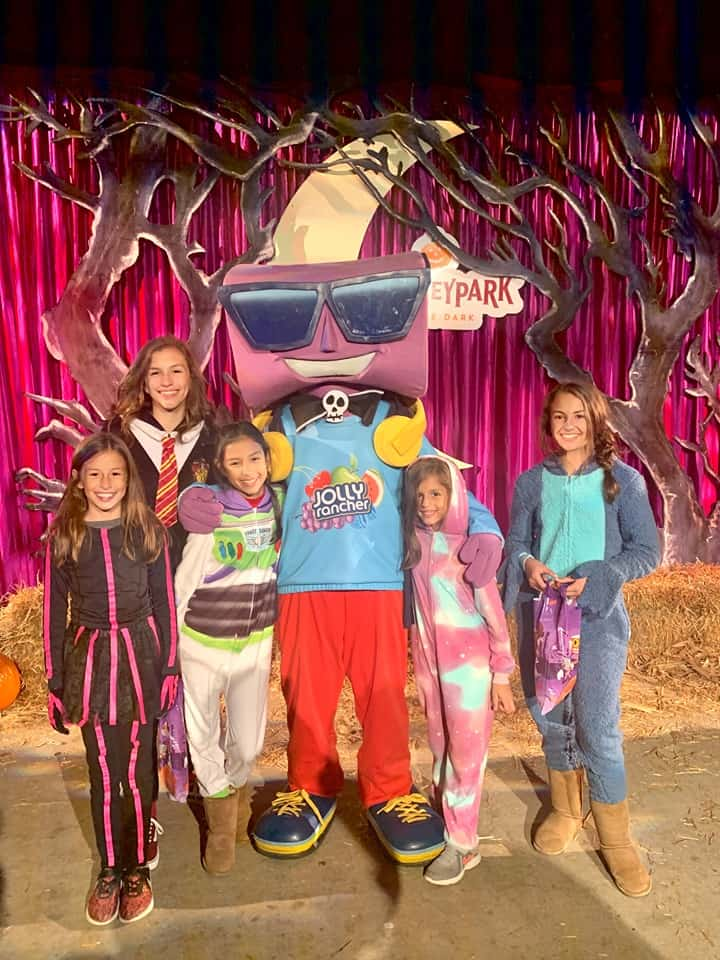Jolly Rancher photo at Hershey Halloween Party