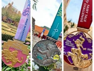2019 Princess Half Marathon Medals Revealed