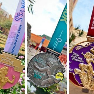 2019 Princess Half Marathon Weekend Medals - Check them out here!
