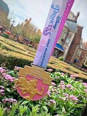 Aurora Princess Half Marathon Medal