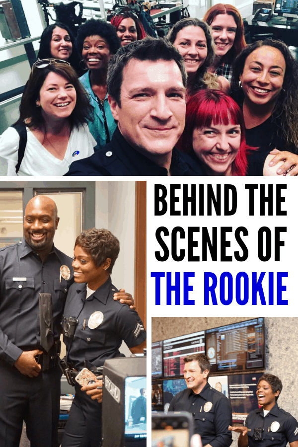 Are you a fan of ABC's The Rookie? Go behind the scenes of our The Rookie set visit. Bonus are Nathan Fillion selfies as well as the rest of the cast!