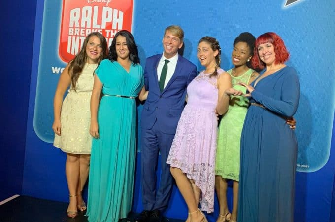 Jack McBrayer at the Ralph Breaks the Internet Premiere