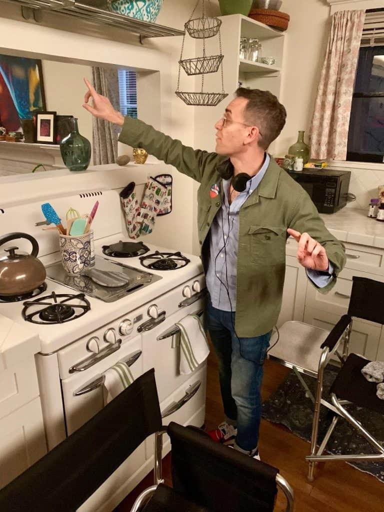 Jason Winer, executive producer of Single Parents