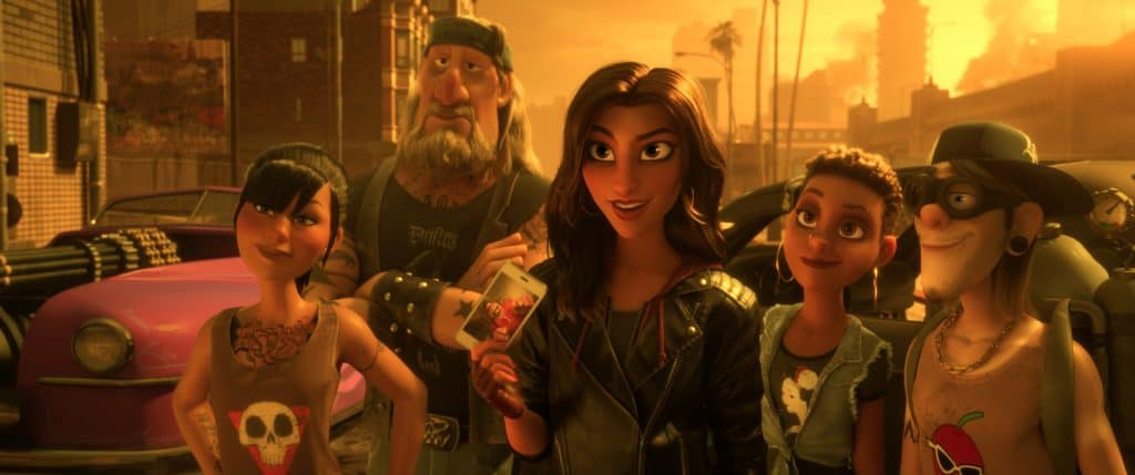 Is Slaughter Race too violent for Ralph Breaks the Internet audiences? Should you take your kids?