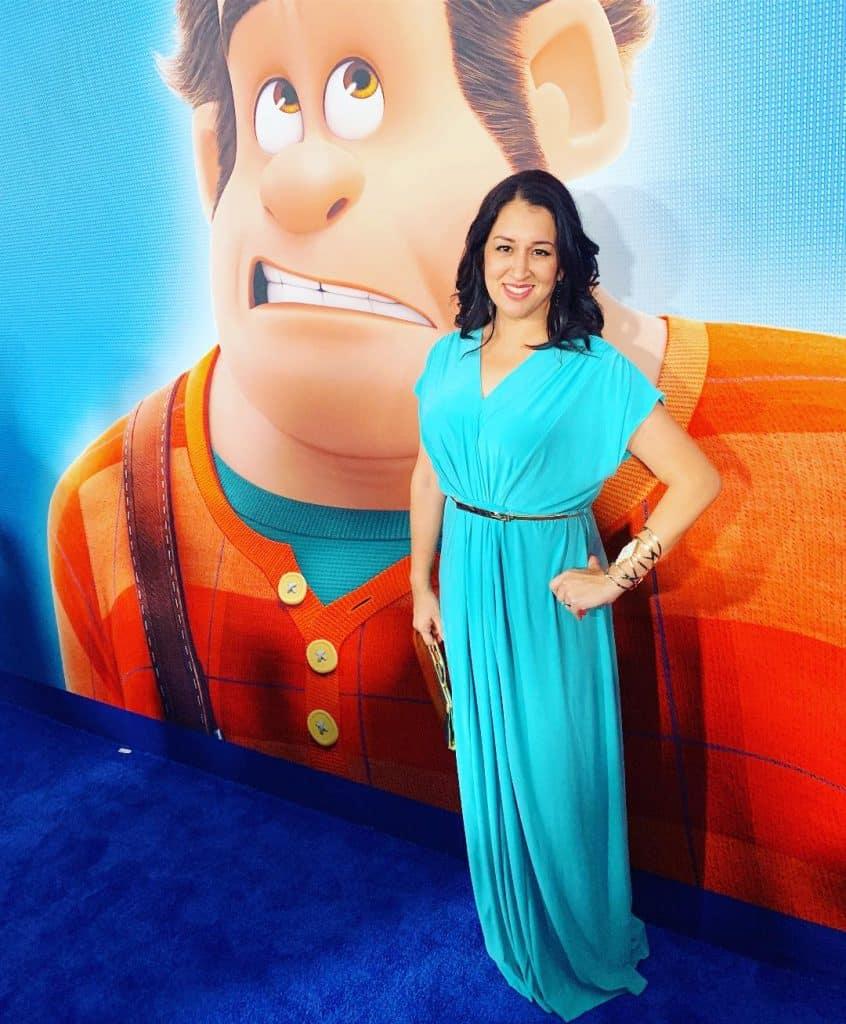 Jasmine DisneyBounding at Ralph Breaks The Internet Premiere