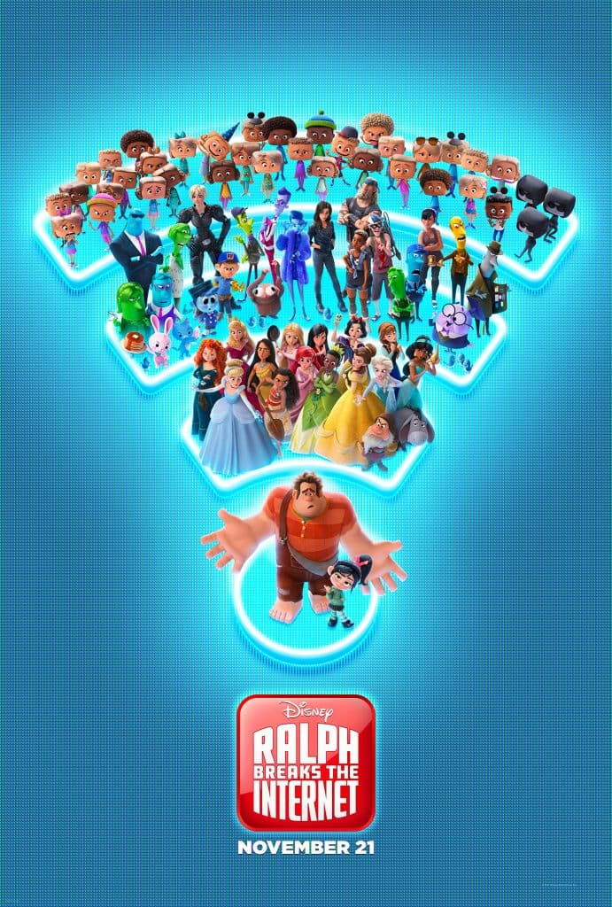 Ralph Breaks the Internet is in theaters November 21st!